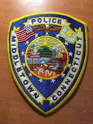 Patch Police Middletown Connecticut Ct State