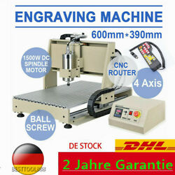 6040 CNC Router 4 Axis 1.5KW Engraving Machine Milling & Drilling Machine Cutter