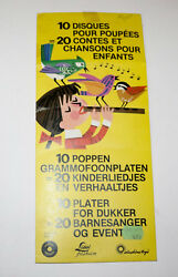 Sunshine Toys Lissi Doll Set Of 10 Records In Package German
