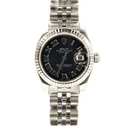 Rolex Datejust Automatic Stainless Steel Women's Dress Watch 179174 Used
