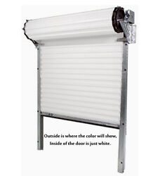 Model 2000 [9and039-2x7and039-4] Medium Duty Rolling Commercial Steel Roll-up White Door
