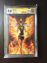 Jean Grey 1 Variant,ss,cgc,9.8,x-men Gold,blue,red,exclusive Stan Lee,campbell