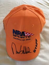 Tom Selleck Autographed Nra Hat Brand New Never Worn W/coa Extremely Rare Item