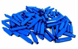 100 Pieces Of Blue B Beanies Gel Filled Connectors