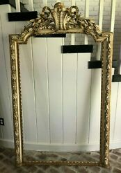 Early 19c French Ornate Large Wall Frame