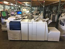 Xerox Color 550 with Light Pro Finisher, SquareFold EX550 Fiery! Meter 300k