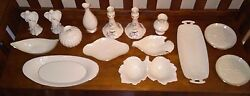 Lenox Collection Candy Dish, Candle Sticks Flower Vase Bud Vase Gold 15 Pieces