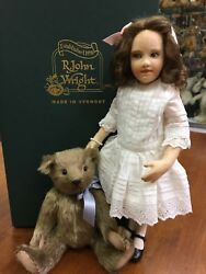 R John Wright Brand New Teddy And Me, Actual Photos Low 41