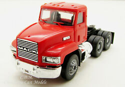 Mack 603 Day Cab Red Short Tandem Axle Ho 1/87 Scale Herpa/promotex 15264-rd