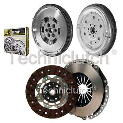 Nationwide 2 Part Clutch Kit And Luk Dmf For Audi A3 Hatchback 2.0 Tdi Quattro