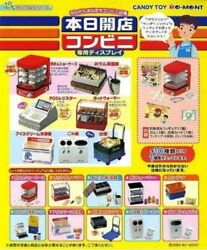 Re-ment Miniature Open Shop Today New in Bags With Boxes Megahouse Dollhouse