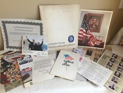 Vintage Paper Epherma Junk Drawer Lot Arts And Crafts Federation Of Republican