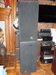 Vintage Big Phase Research Stereo Speakers. Good Condition. Sound Fantastic