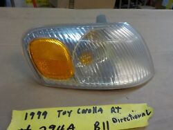 1999 toyota corolla right passenger side signal front directional light 294ab11