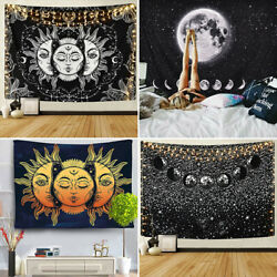 Wall Tapestries Moon Phase Tapestry Wall Hanging Mysterious Gothic Home Decor