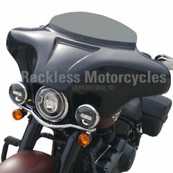Harley Davidson Batwing Fairing Softail Deluxe 2018 -xs- Ipod / Aux 6.5 Speakers