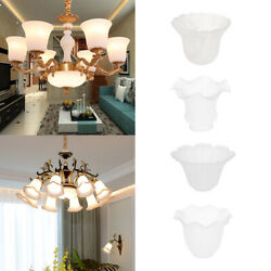 Set of 4 Glass Shades for Wall Lights and Ceiling Lights Replacement Shades