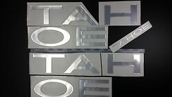 Tahoe Boats Emblems 42 Chrome + Free Fast Delivery Dhl Express - Raised Decals