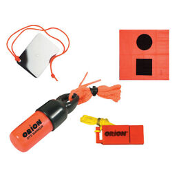 Orion 619 Signaling Kit Flag Mirror Dye Marker And Whistle