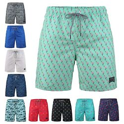 Beautiful Giant Men's Fast Dry Mesh Liner Pocket Swimwear Shorts Swim Trunks $13.29