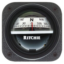 Ritchie Compasses V-527 Compass Bulkhed/slope 2.75 Dial Grey