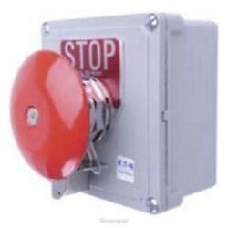 Eaton Emergency Stop Station 30.5mm Hole 1xn/c 1xn/o Pull Release,panel Mounting