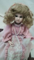 Beautiful French Antique Style Music Box Dressing Table Doll Automaton Doll