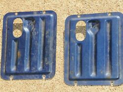71 72 Chevy Wagon Parts 70 Chevelle Ss Wagon Nomad Rear Door Panel Covers Gm Oem