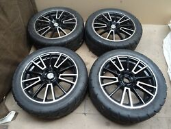 Fox Alloy Racing Alloy Wheels 17 17x71/2jj With Good Toyo Proxes R888 Tires