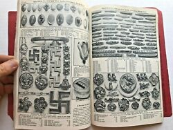1910 Baird-north Gold And Silver Jewelry Catalog With 175 Pages