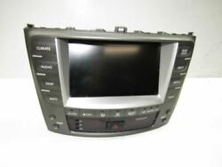 2007 LEXUS IS350 - GPS NAVIGATION DISPLAY W CLIMATE CONTROL SCREEN 8611153060