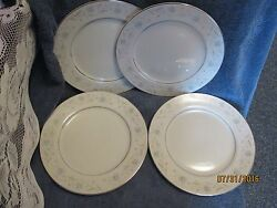 English Garden China 1221 Dinner Plate Set Of 4 Plates 10 Combined Ship Ok