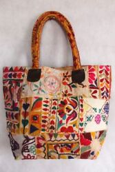 Designer Women Embroidery Shoulder Tote Indian Handmade Ethnic Banjara Bag 10 pc