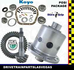 Ford 10.25 12 Bolt Posi Package 3.55 Gears And Master Install Kit Yukon Usa Std