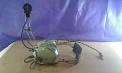 David Clark H7030 P/n 12510g-01 Headset - No Earseals/filters Need Replaced/cord