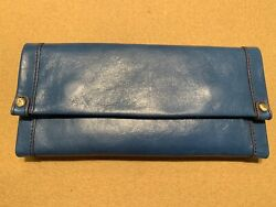 Hobo Women's Vintage Leather Fable Wallet Clutch with Pouch In Bayou!