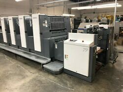 Shinohara 79 IV Offset Printing Machine - 4 Color 2008 Model