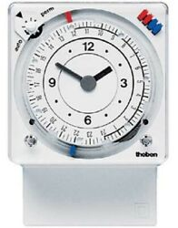 Theben Analogue Time Switch The64cq 60x17.5x45mm 16a 240vac Quarts 24hr-7day