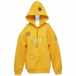 Chanel x Pharrell Capsule Collection Hoodie  Lesage Embroidery Yellow  L NEW
