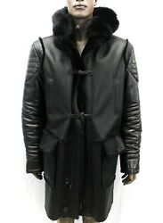 DLM1-34 Shearling With Fox Collar (Custom  All Sizes Available)