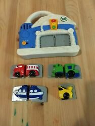 Leap Frog Talking Wash And Go Magnetic Car Train Vehicle Learning Toy
