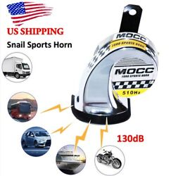 130dB 510Hz Sports Snail Air Horn Loud Loud for Motorcycle Car Boat Truck US