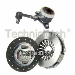 Nationwide 2 Part Clutch Kit And Csc For Renault Kangoo Be Bop Mpv 1.5 Dci