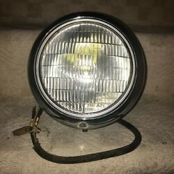 Nos Vintage 1930andrsquos 1940andrsquos 10 In Headlight Bucket Original Rat Rod Hot Rod
