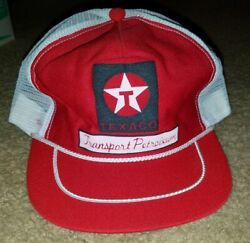 Vintage Texaco Hat - Great Condition - From Late 70s/early 80s - Trucker Hat