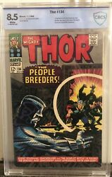 Thor 134 Cbcs 8.5 White Pages Not Cgc First Appearance Of The High Evolutionary