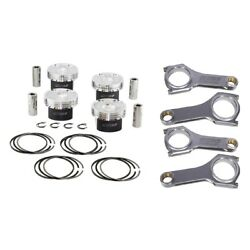 Manley Pistons+h-tuff Rods For Subaru Fa20/toyota 4u-gse 86.10/10.01 Brz/frs