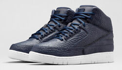 Nike Air Python Sp Lux Trainers Uk 8.5 Eur 43 Us 9.5 Obsidian Navy Blue Force 1