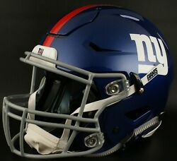 New York Giants Nfl Authentic Gameday Football Helmet W/ Sf-2bd Facemask