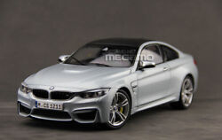 1/18 Paragon Bmw F82 M4 Coupe Silver Stone W/ M3 M6 19and039 Wheel Edition